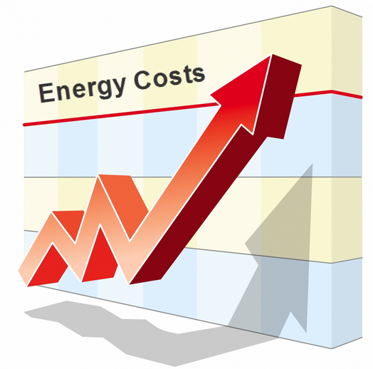 energy costs rising1